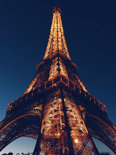 No Pictures Of Eiffel Tower At low angle photo of eiffel tower 183 free stock photo