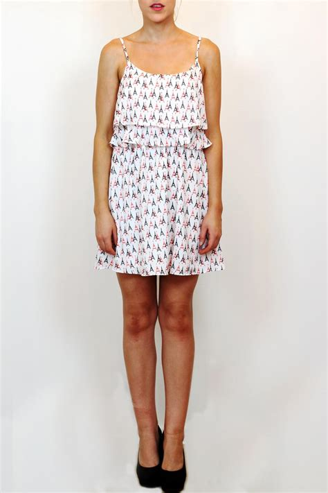 Dress Eiffel moon eiffel tower dress from vancouver by carte blanche