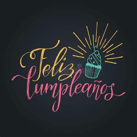 imagenes goticas feliz cumpleaños vector a feliz cumpleanos dise 241 o de letras traducido del