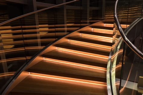 Moderne Treppe 3456 by Free Stock Photo Of Glass Handrail Illuminated
