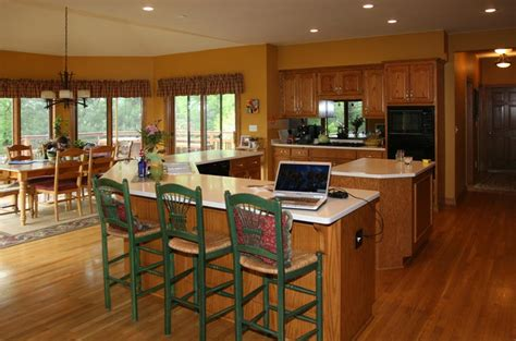 coordinating wood floor with wood cabinets brookfield kitchen wooden thumb remodeling wooden thumb