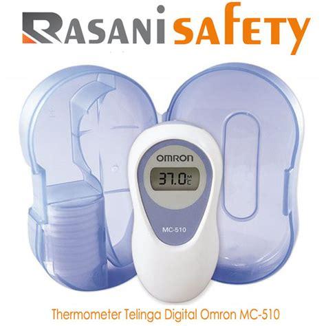 Thermometer Digital Merk Omron thermometer telinga digital omron mc 510