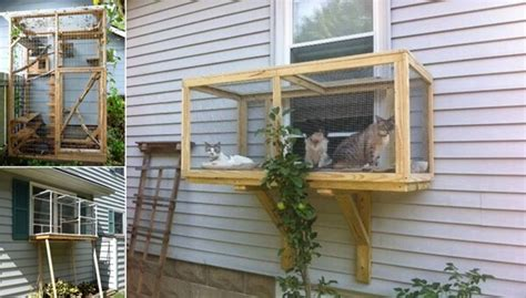 Screened Porch Kit by Build A Catio For Your Cats To Enjoy