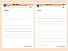 diary writing template ks2 teaching diary writing ks1 lawteched