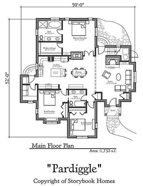 storybook cottages floor plans storybook home plans old world styling for modern