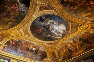 Ceiling Art by Palace Of Versailles Ceiling Photograph By Jon Berghoff