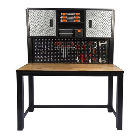 garage bench and storage ultimate storage 1850 x 1500 x 600mm garage workbench