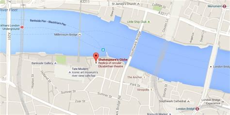 globe theatre maps shakespeare s globe theatre free tours by foot