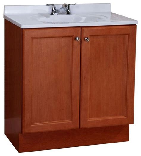 All In One Bathroom Vanities Glacier Bay Bathroom All In One 30 In W Vanity Combo In With Cultured Contemporary