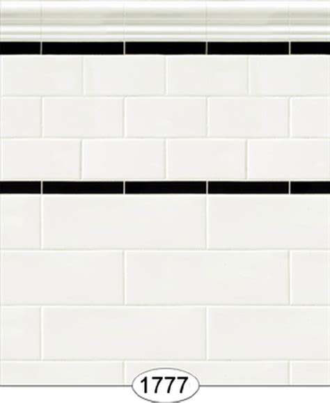 off white subway tile dollhouse wallpaper subway tile off white ebay