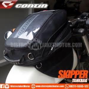 Jual Tank Bag Contin Skipper Baru Tas Motor Tas Helm Biker jual jaket motor dan jaket touring distributor