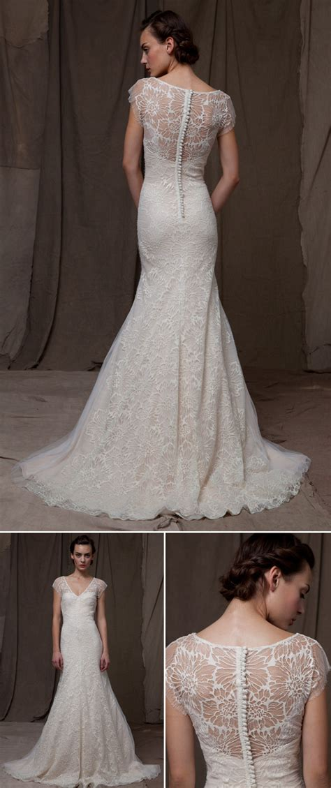 wedding dresses with beautiful backs junebug weddings