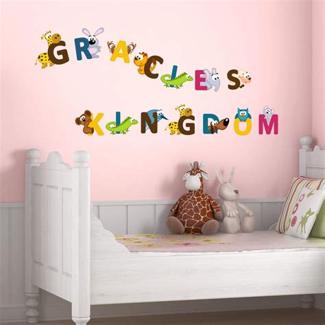 alphabet stickers for walls alphabet wall stickers wall