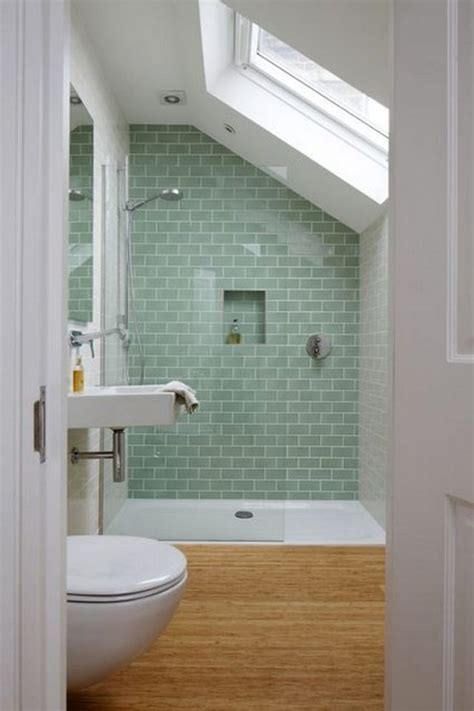 attic bathroom sloped ceiling attic bathroom ideas sloped ceiling 6 slanted walls tiled