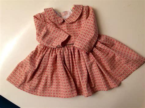 baby jurk katoen varkentjes jurk van kona katoen patroon peter pan