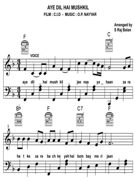 Play Bollywood Songs on Piano Book V 2 – BOLLYWOOD SHEET