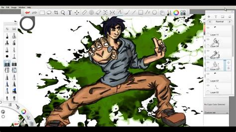 sketchbook v4 0 0 sketchbook pro jackie chan drawing