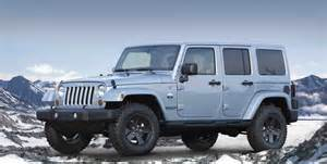 List Of Jeep Wrangler Models In Time For Winter Jeep Releases Two New Arctic Models
