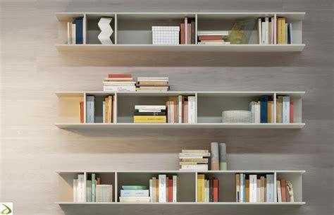 librerie sospese a parete libreria sospesa a parete kepler arredo design