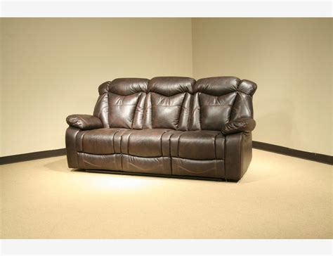 tufted leather reclining sofa otta brown leather air reclining sofa motion tufted