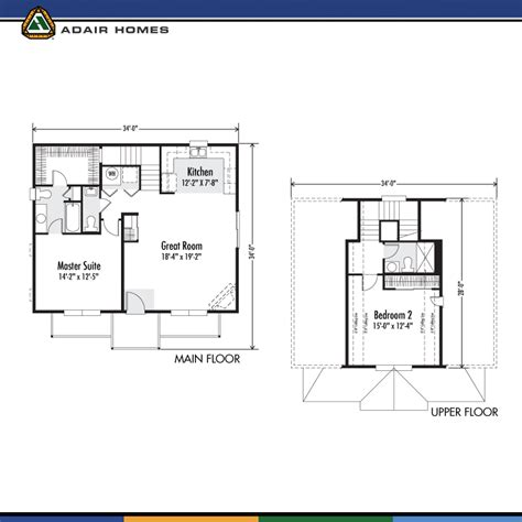 adair homes the rhododendron 1291 home plan