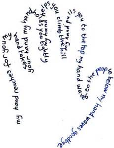 concrete poem template concrete poem exles montross middle school library