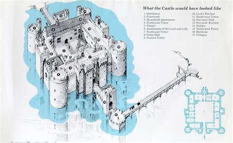 bodiam castle floor plan bodiam castle bodiam castle england pinterest