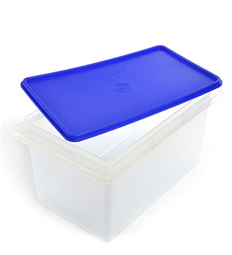 Tupperware Rice Box buy tupperware rectangular rice atta keeper 5000 ml with