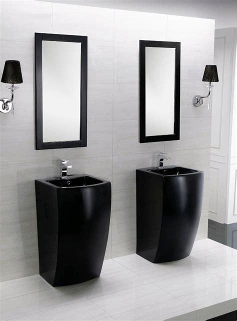 contemporary bathroom pedestal sinks altier ii modern pedestal