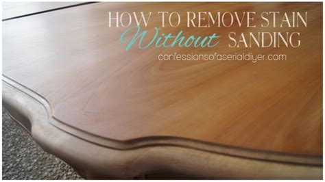 How To Stain A Dresser Without Sanding by How To Remove Stain Without Sanding Confessions Of A