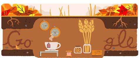 Spring Equinox Google Doodle When Does The Season Really   autumn equinox 2017 google doodle returns mouse featured