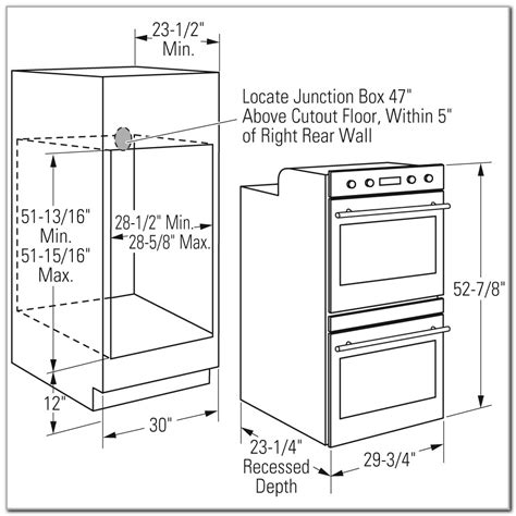 built in oven cabinet oven cabinet dimensions bar cabinet