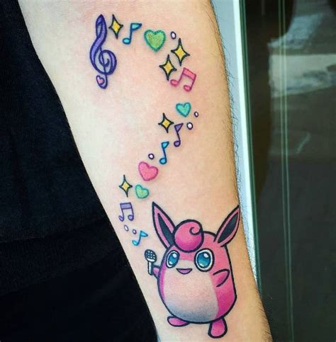 jigglypuff tattoo 50 tattoos for and 2017 tattoosboygirl