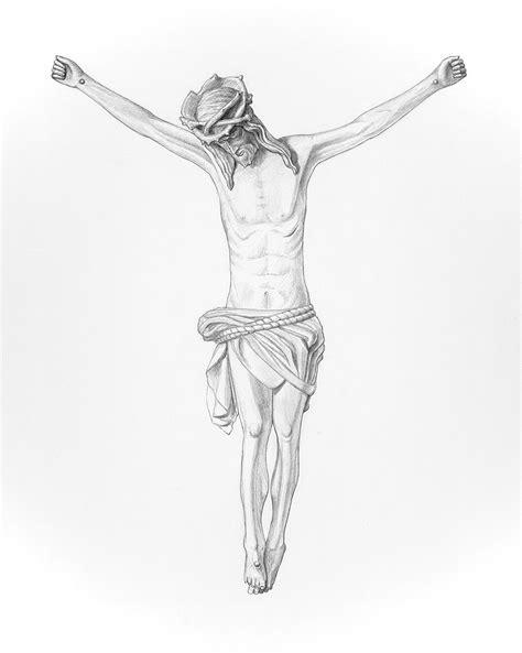 Jesus Crucified Ed Prather Art Jesus On The Cross Drawings