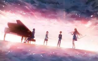 Shigatsu wa kimi no uso music piano violin wallpapers hd desktop