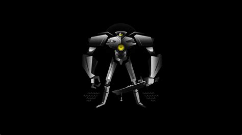 black robot wallpaper alien android black background film gipsy danger movies