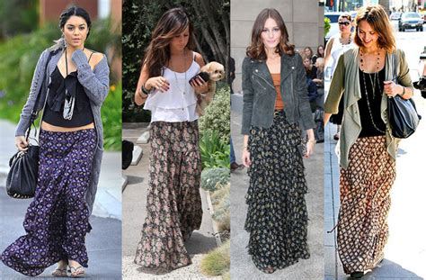 what to wear with black maxi skirt images