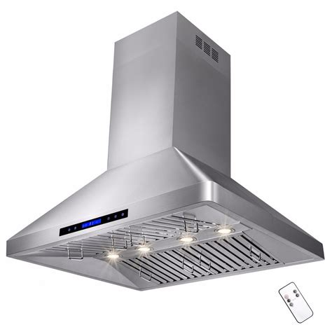 the stove exhaust fan 36 quot stainless steel island range kitchen cooking