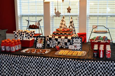 cing themed decorations werdyab race car birthday