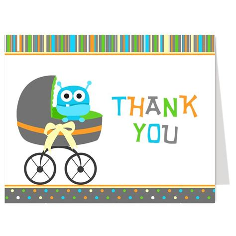 thank you for attending baby shower 17 best images about monsters baby shower on