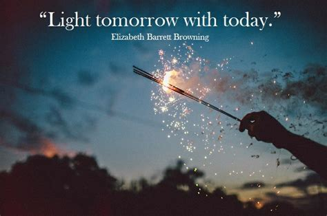 what is light tomorrow light tomorrow with today elizabeth barrett browning