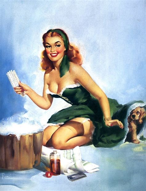 pin up the vintage pin up girls of edward runci sad man s