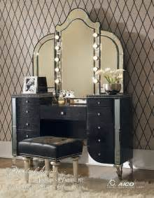 Lighted Vanity Table With Mirror And Bench Vanity Table With Mirror Vanity Tables Galore And Antique Dressers