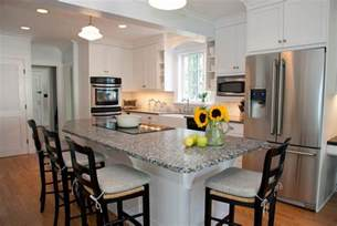 Island Chairs For Kitchen charming white ribbons applied for kitchen island with seating