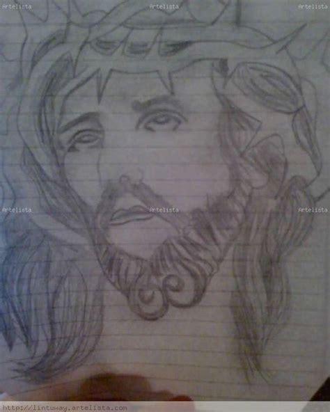 imagenes para dibujar a lapiz de jesus rostro de jesus dibujo a lapiz imagui
