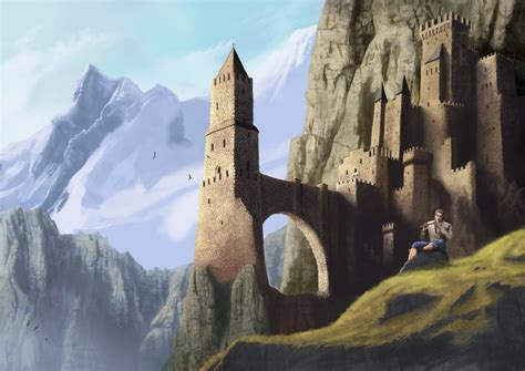Minecraft House Inspiration by Super Awesome Futuristic Castles And Fortresses 1