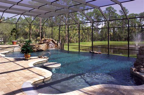 pools patios porches mediterranean pool orlando