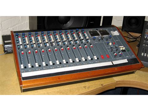 neve recording console neve 542 small mixing console funky junk classic
