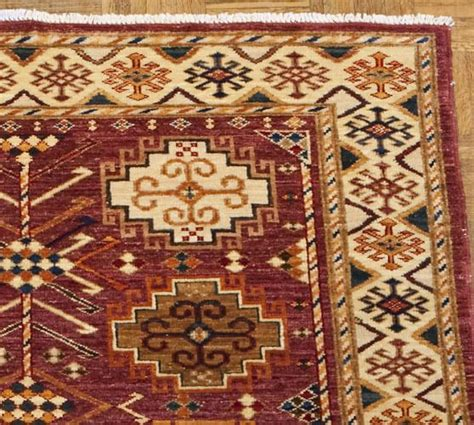 arzu rugs arzu studio symmetry knotted rug pottery barn