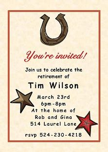 western birthday card template country and western invitations new selections fall 2018